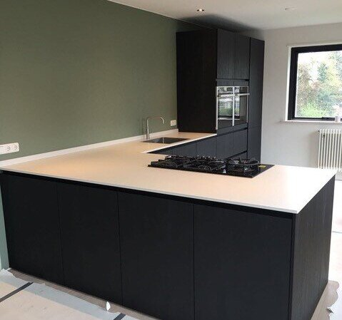 Zwarte Keukens Nijhuis Keukens Kwaliteit Op Alle Vlakken